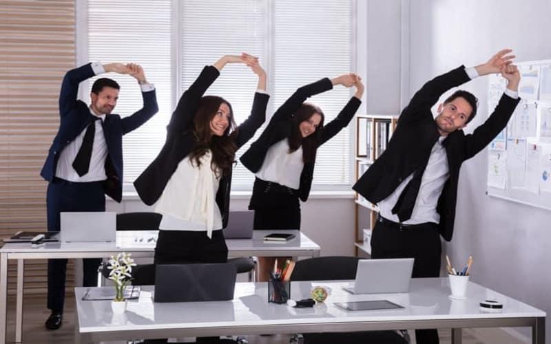 consejos para evitar el sedentarismo en la oficina mapfre