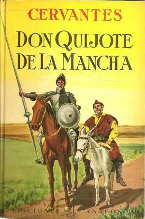 Portada libro: Don Quijote De La Mancha
