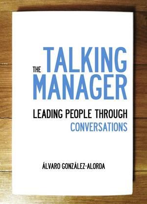 Portada libro:: The talking manager