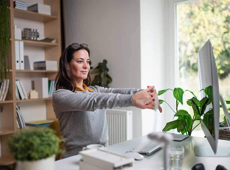 10 Aspectos importantes de la seguridad y salud en el trabajo desde casa - MAPFRE